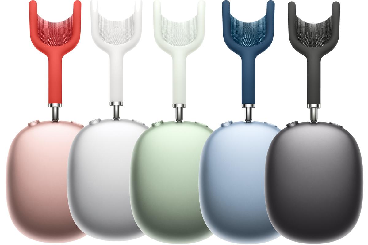 AirPods Max - ứng dụng chất liệu nhôm Anodized