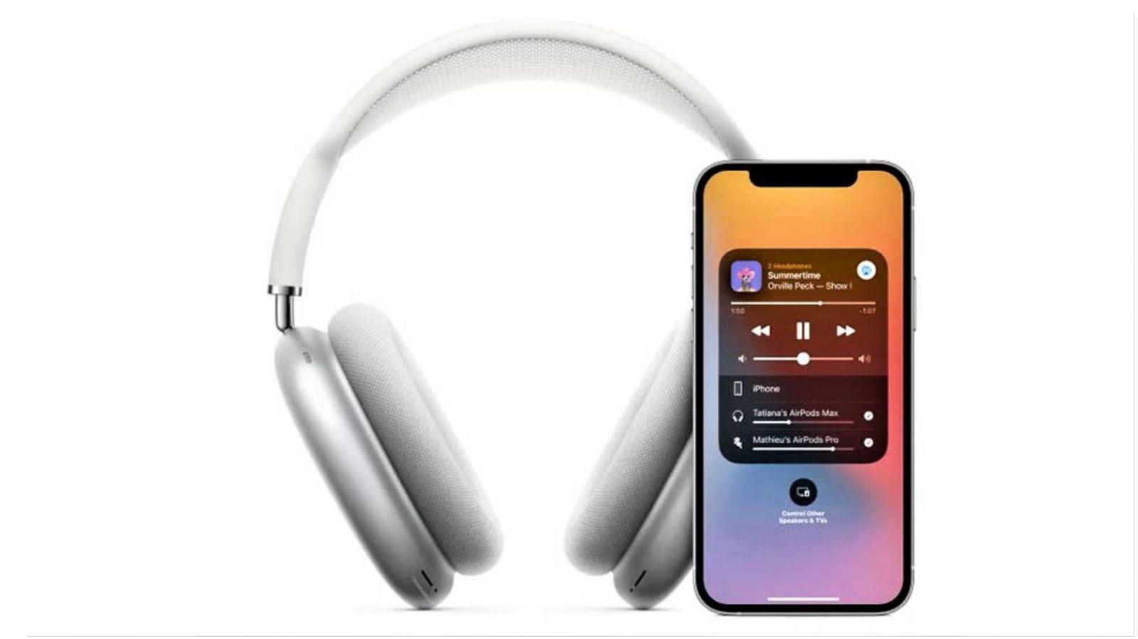 AirPods Max - Chia sẻ âm thanh dễ dàng với một chiếc tai nghe AirPod khác