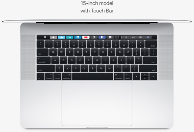 Touch Bar và Touch ID