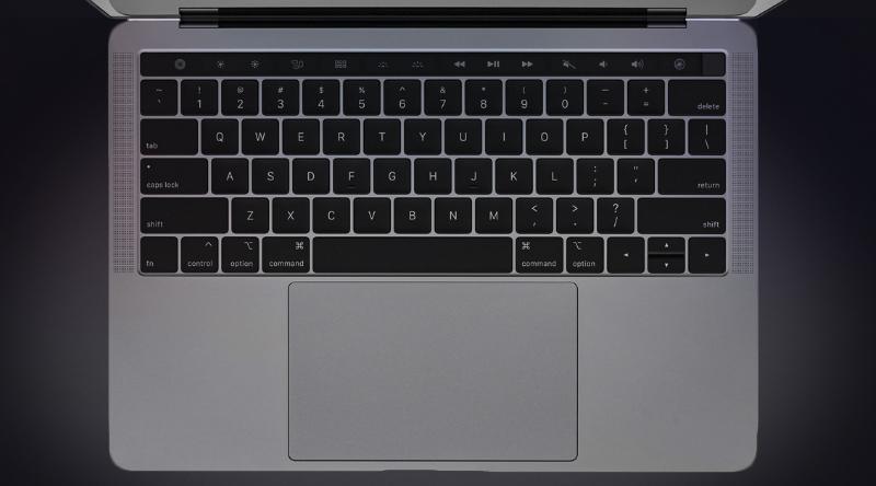 Bàn nền phím trên Apple Macbook Pro 2018 13 inch Touchbar MR9Q2SA