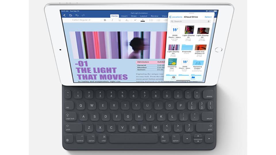 làm việc iPad 2019