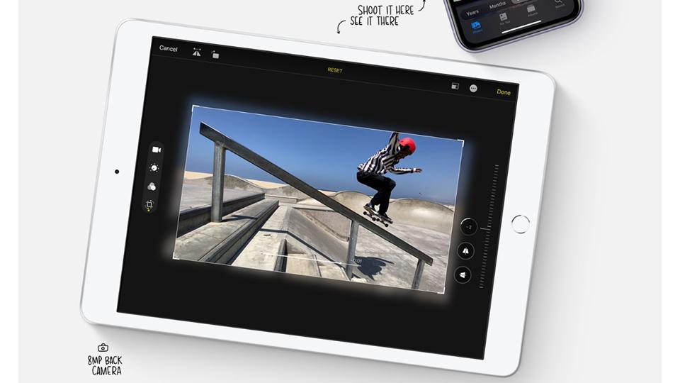 chụp ảnh iPad 2019