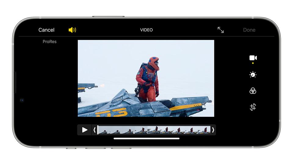 video iPhone 13 Pro