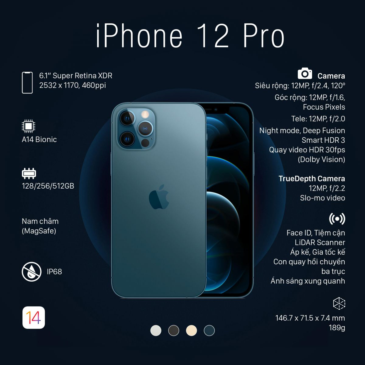 iPhone Pro xóa phông