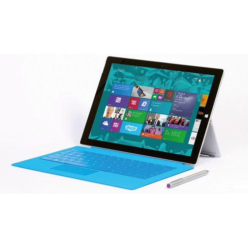 Microsoft Surface Pro 3 - (Core i3-402Y, RAM 4GB, SSD 64GB, 12 inch Full HD+, Win 8.1 Pro)