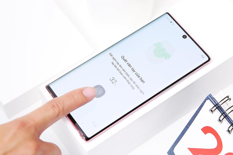 Điện thoại Samsung Galaxy Note 10 | Cảm biến vân tay