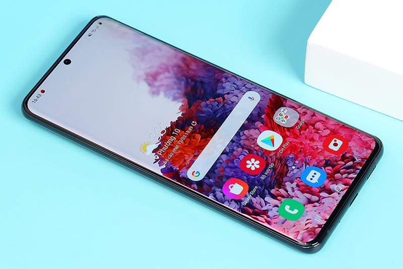 Điện thoại Samsung Galaxy S20 Ultra | Thiết kế màn hình siêu tràn viền kích thước lớn