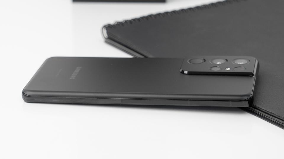 thiết kế Samsung Galaxy S21 Ultra 5G